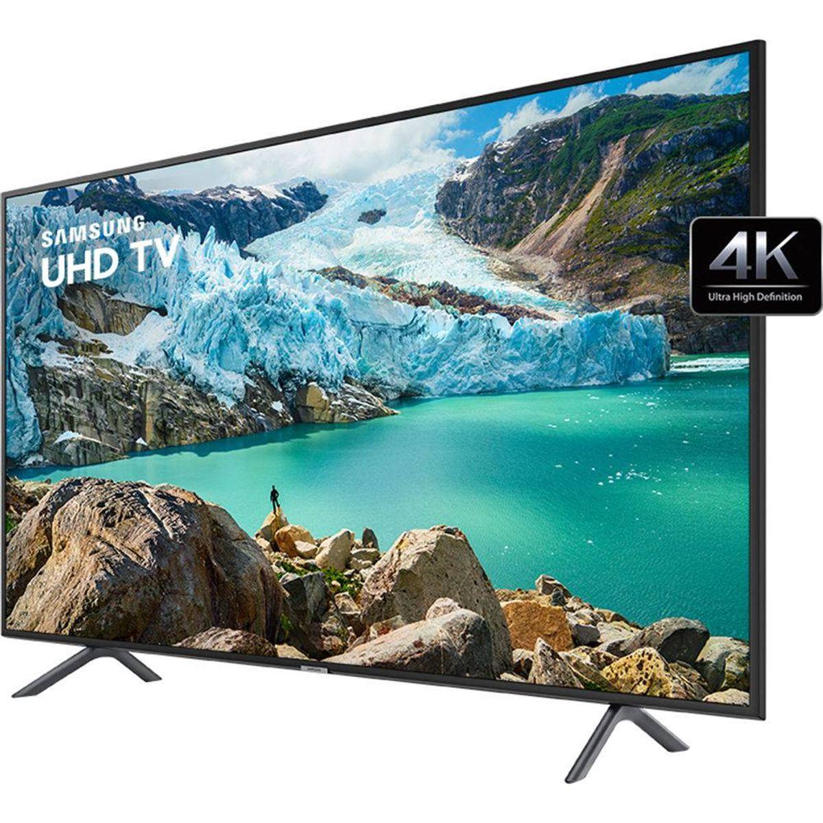 "Smart TV LED 65"" 4K Samsung 65RU7100 3 HDMI 2 USB Wi-Fi - lojaibyte"