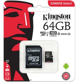 Cartao-de-Memoria-MicroSD-Kingston-64GB-Classe-10-SDCS-64GB