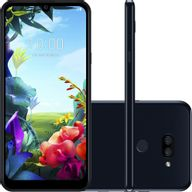 """Smartphone-LG-K40s-32GB--Tela-6.5""""---4G-Camera-13-5MP-com-case-e-pelicula"""