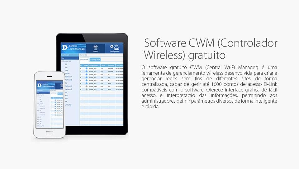 Software CWM (Central WiFi Manager) Gratuito
