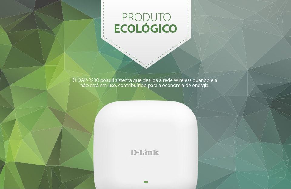 Access Point DAP-2230 com sistema ecológico de economia de energia