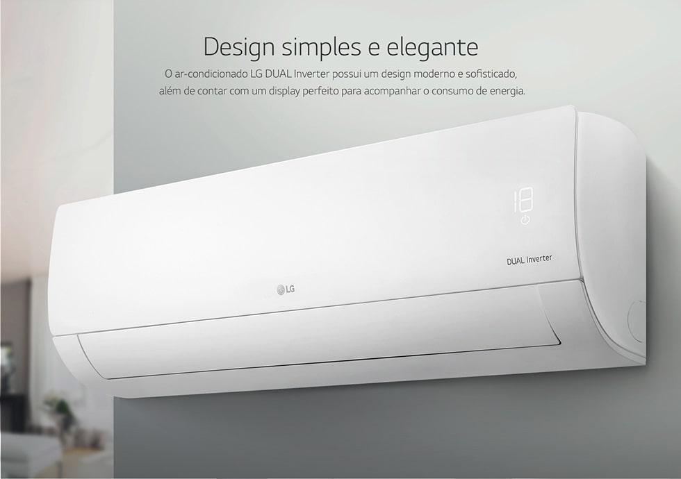 ar condicionado split dual inverter lg compact