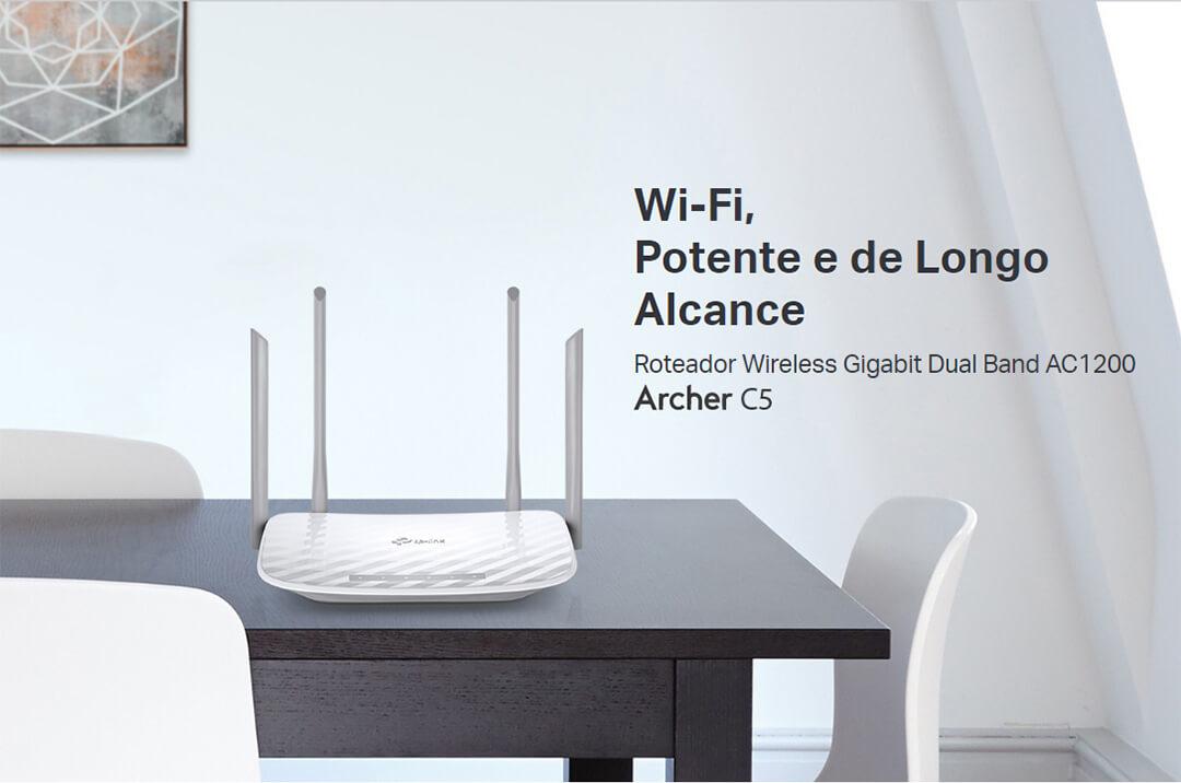 roteador wifi 1200mbps archer c5w v4