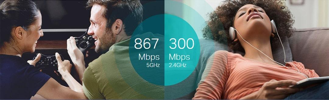Wi Fi Dual Band de Alta Velocidade para Conex  es Melhores