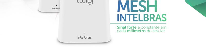 roteador wi fi intelbras twibi fast tecnologia mesh 1200mbps dual band
