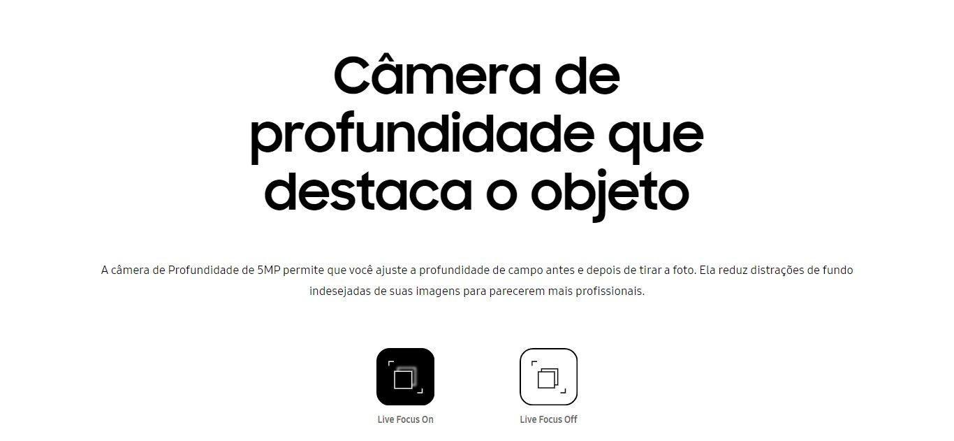 Smartphone Samsung Galaxy A31 128GB Dual Branco Câm.Quádrupla + Selfie 20MP - SM-A217MZWKZTO