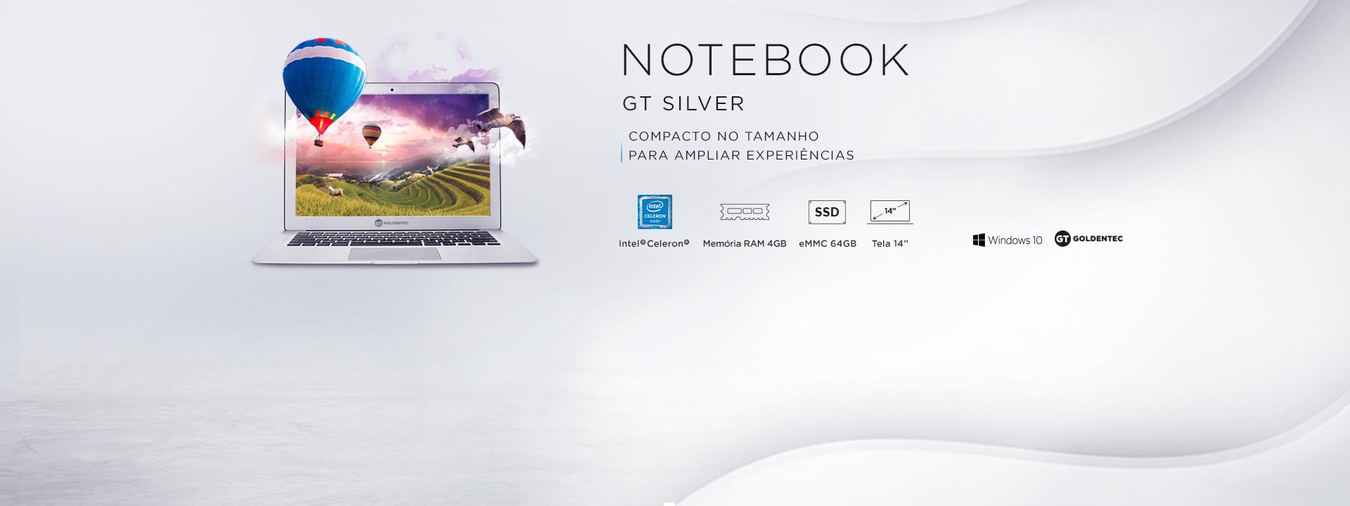 Notebook GT Silver