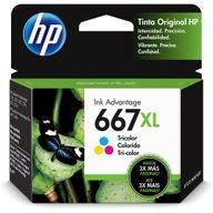 Cartucho-HP-667XL-Colorido-3YM80AL-Advantage-Original