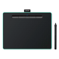Mesa-Digitalizadora-Wacom-Intuos-Media-Bluetooth-Verde-Pistache---CTL-6100WLE0