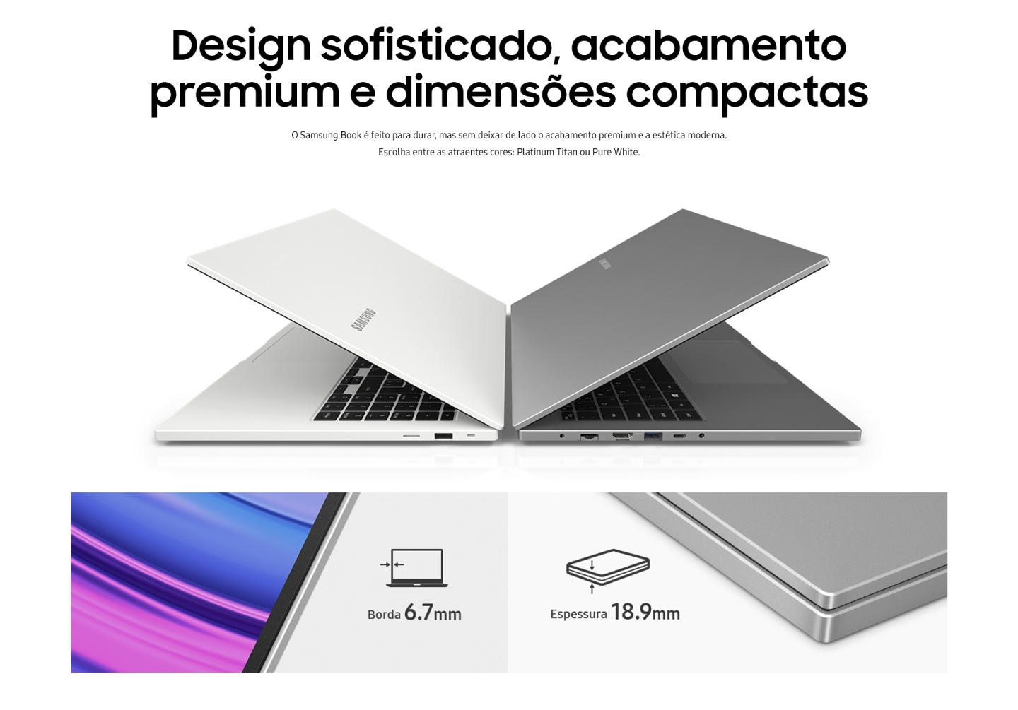 Notebook Samsung Book E30 - Intel Core i3-10110U 4GB 1TB Tela 15,6 FHD Windows 10 - Prata