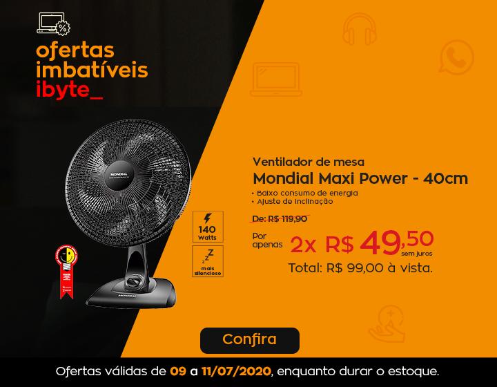 Oferta  Imbatível - ventilador