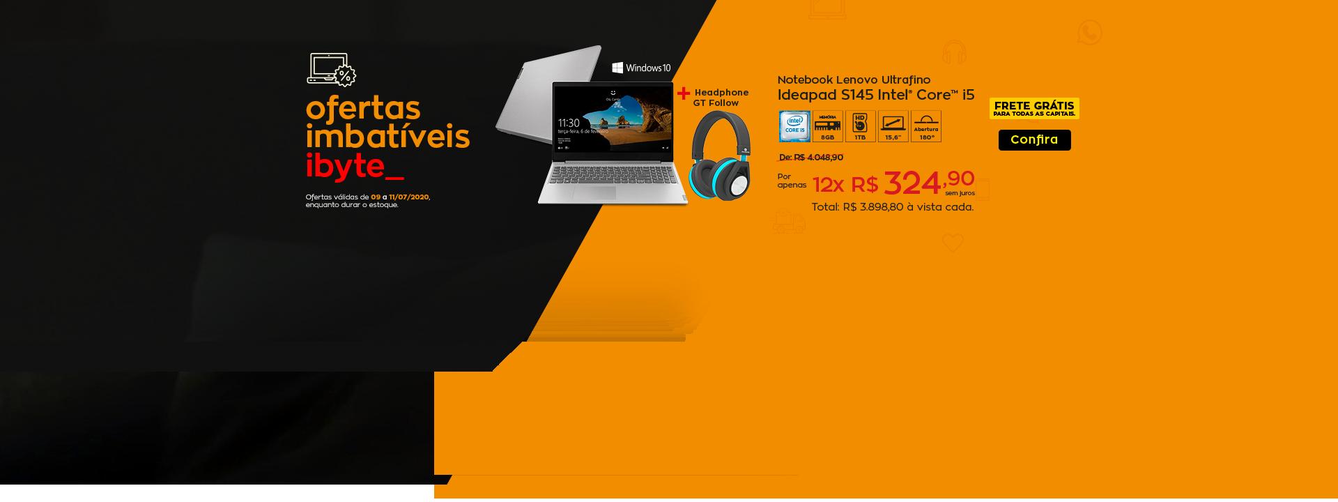 Oferta imbatível - kit notebook Lenovo
