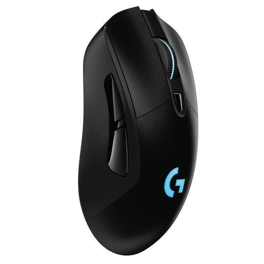 Mouse-Sem-Fio-Gamer-Logitech-G703-Hero-16k-Lightspeed-Recarregavel-RGB-Lightsync-6-Botoes-16000-DPI--Preto--910-005639