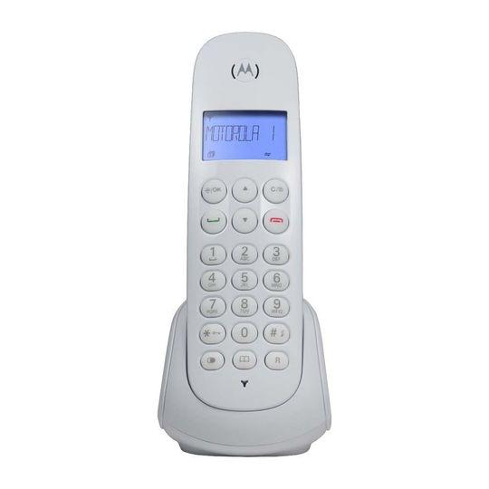 Telefone-Digital-Sem-Fio-Motorola-MOTO700W-com-Identificador-de-Chamadas-e-Visor---Branco