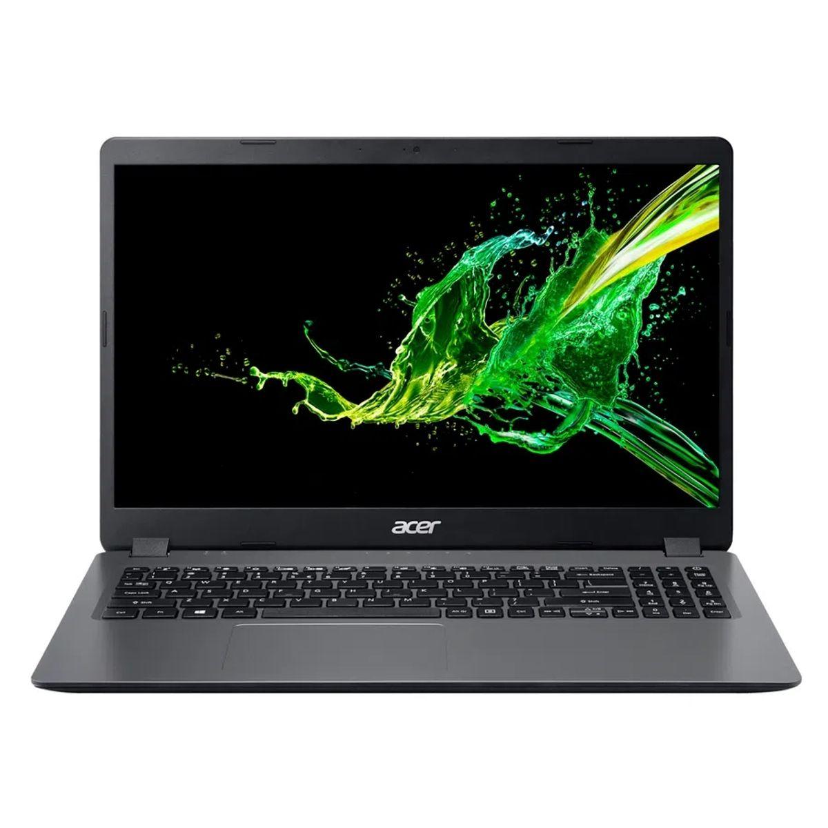 Notebook - Acer A315-54k-30bg I3-8130u 2.20ghz 8gb 1tb Padrão Intel Hd Graphics 620 Windows 10 Home Aspire 3 15,6