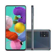 "Smartphone-Samsung-Galaxy-A51-128GB-4GB-RAM-Tela-65""-Camera-Quadrupla-Traseira-48MP---12MP---5MP---5MP-Frontal-de-32MP-Bateria-4000mAh-Preto"