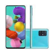 "Smartphone-Samsung-Galaxy-A51-128GB-4GB-RAM-Tela-65""-Camera-Quadrupla-Traseira-48MP---12MP---5MP---5MP-Frontal-de-32MP-Bateria-4000mAh-Azul"