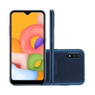 Smartphone-Samsung-Galaxy-A01-32GB-2GB-RAM-Tela-57--Camera-Dupla-Traseira-13MP---2MP-Frontal-de-5MP-Bateria-3000mAh-Azul
