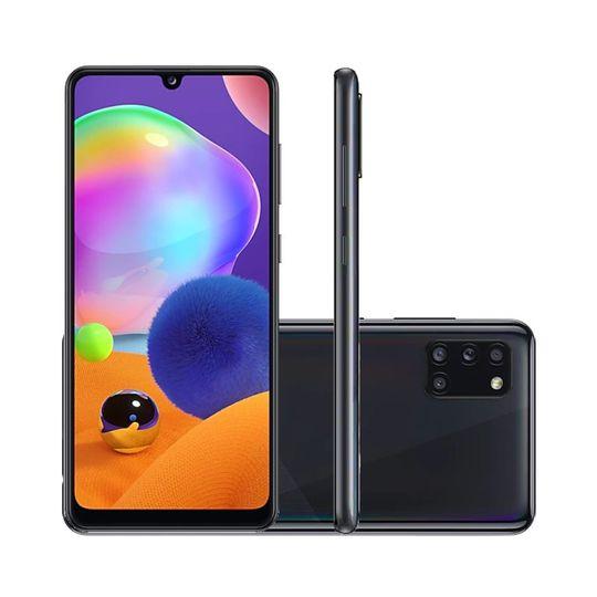 Smartphone-Samsung-Galaxy-A31-128GB-4GB-RAM-Tela-64--Camera-Quadrupla-Traseira-48MP---5MP---8MP---5MP-Frontal-de-20MP-Bateria-5000mAh-Preto