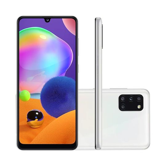 smartphone-samsung-galaxy-a31-128gb-4gb-ram-tela-6-4-camera-quadrupla-traseira-48mp-5mp-8mp-5mp-frontal-de-20mp-bateria-5000mah-branco