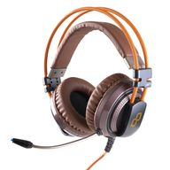Headphone-Gamer-Goldentec-GT-Attack-7.1-Canais-Laranja