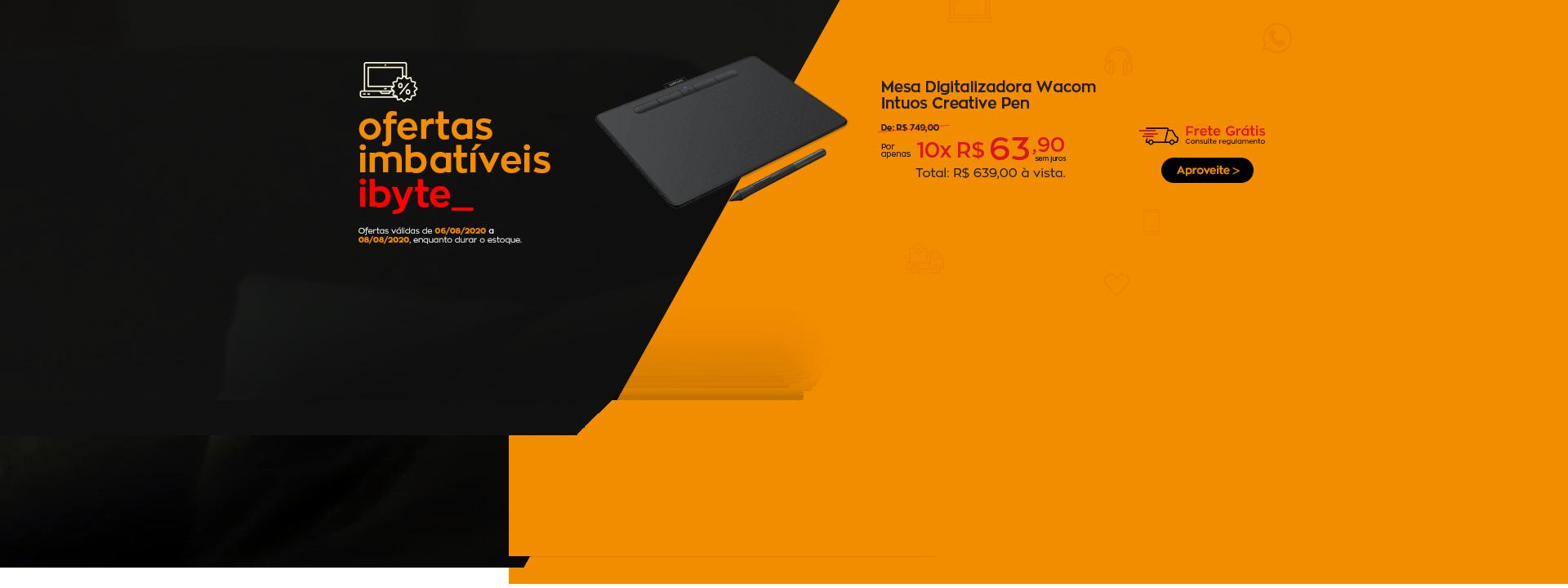 Oferta Imbatível - Mesa digitalizadora