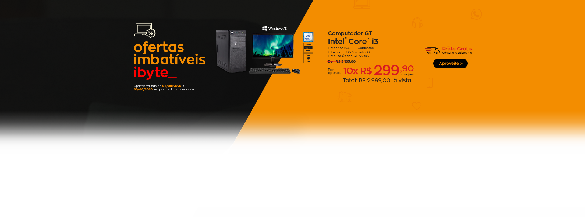 Oferta imbatível - Computador