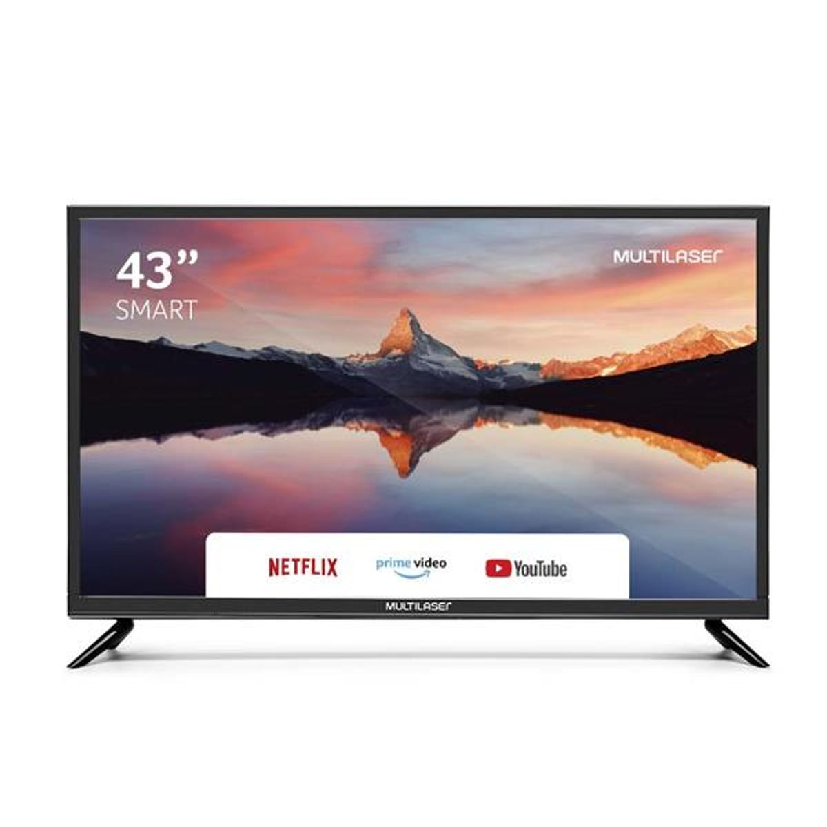 "Tv 43"" Led Multilaser Full Hd Smart - Tl015"