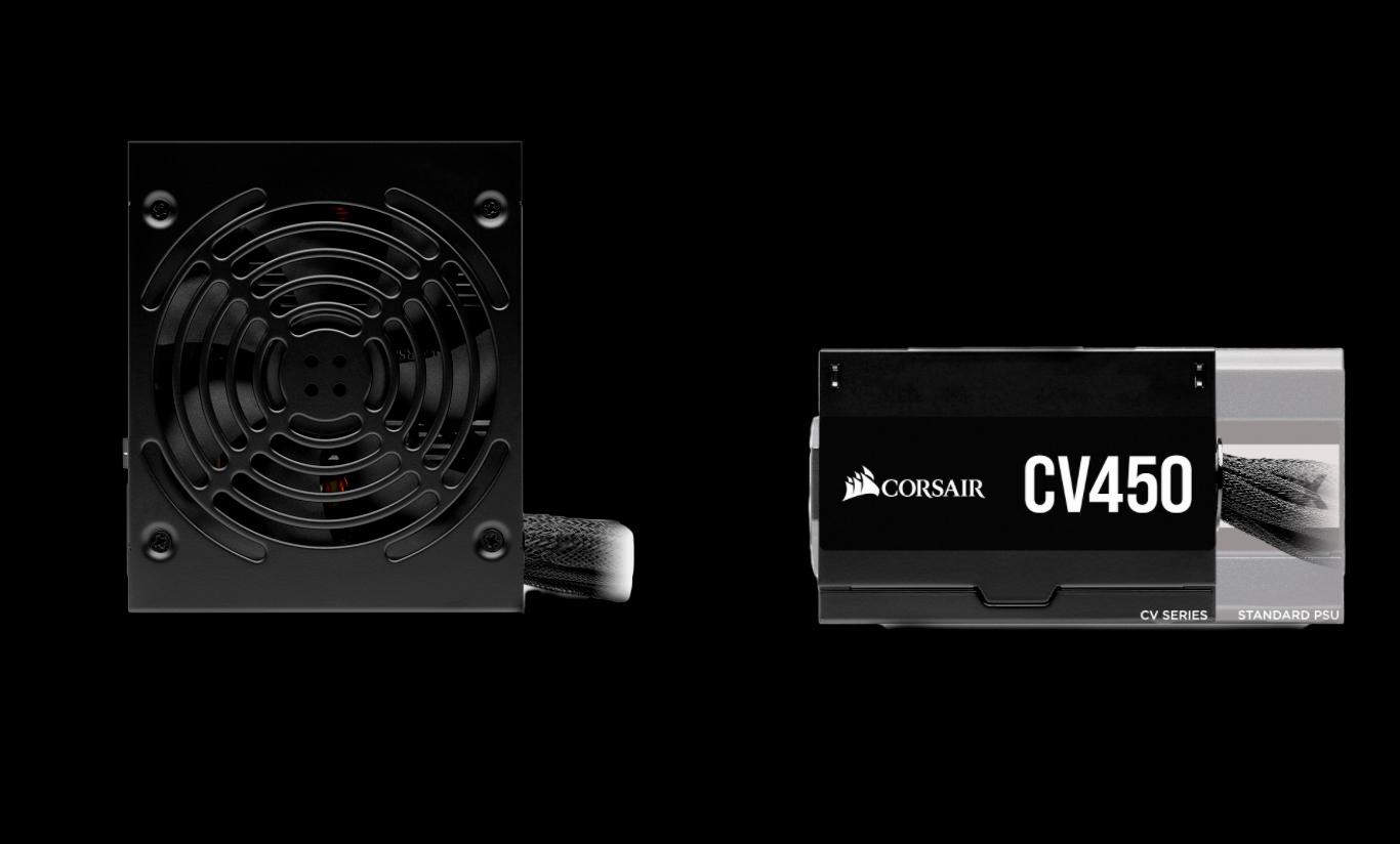 Fonte Gamer Corsair CV450 450W 80Plus Bronze-CP-9020209-BR