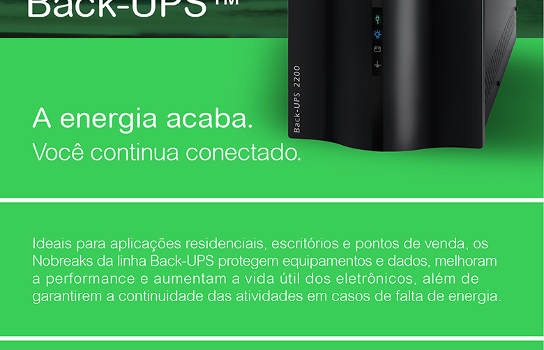 Nobreak APC Back-UPS 2.2KVA