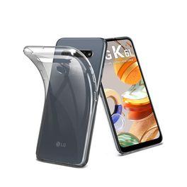 Smartphone-LG-K61-128GB-4GB-RAM-Tela-655--Camera-Quadrupla-Traseira-48MP---8MP---5MP---2MP-Frontal-de-16MP-Bateria-4000mAh-Titanio