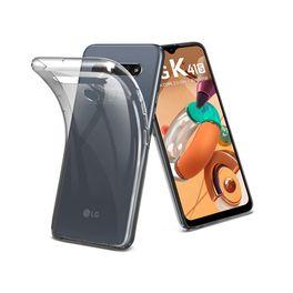 Smartphone-LG-K41S-32GB-3G-RAM-Tela-655--Camera-Quadrupla-Traseira-13MP---5MP---2MP---2MP-Frontal-de-8MP-Bateria-4000mAh-Titanio