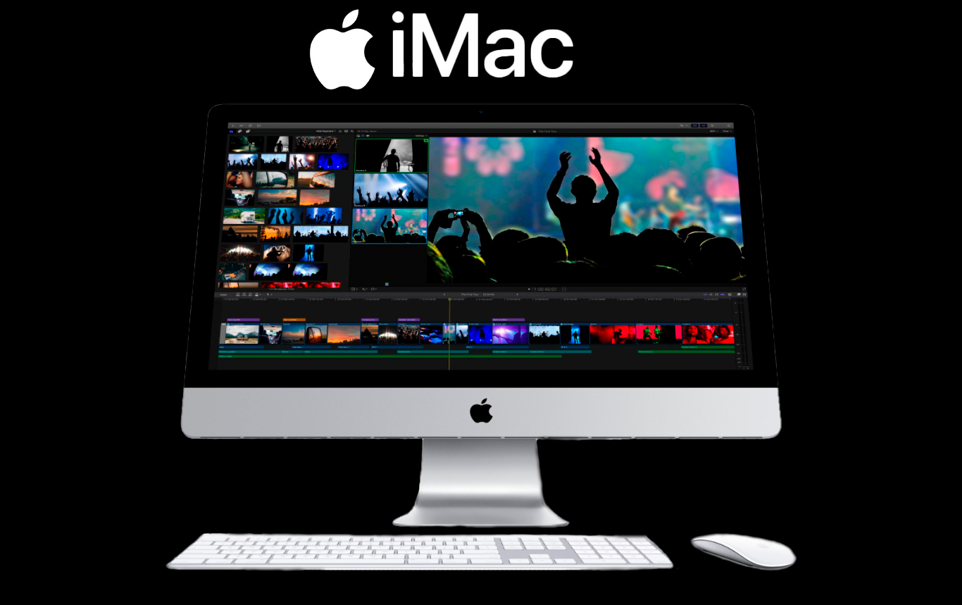 iMac Apple Intel Core i5 8GB 256GB SSD 27 Tela Retina 5K macOS, Cinza Espacial -MXWT2BZ/A