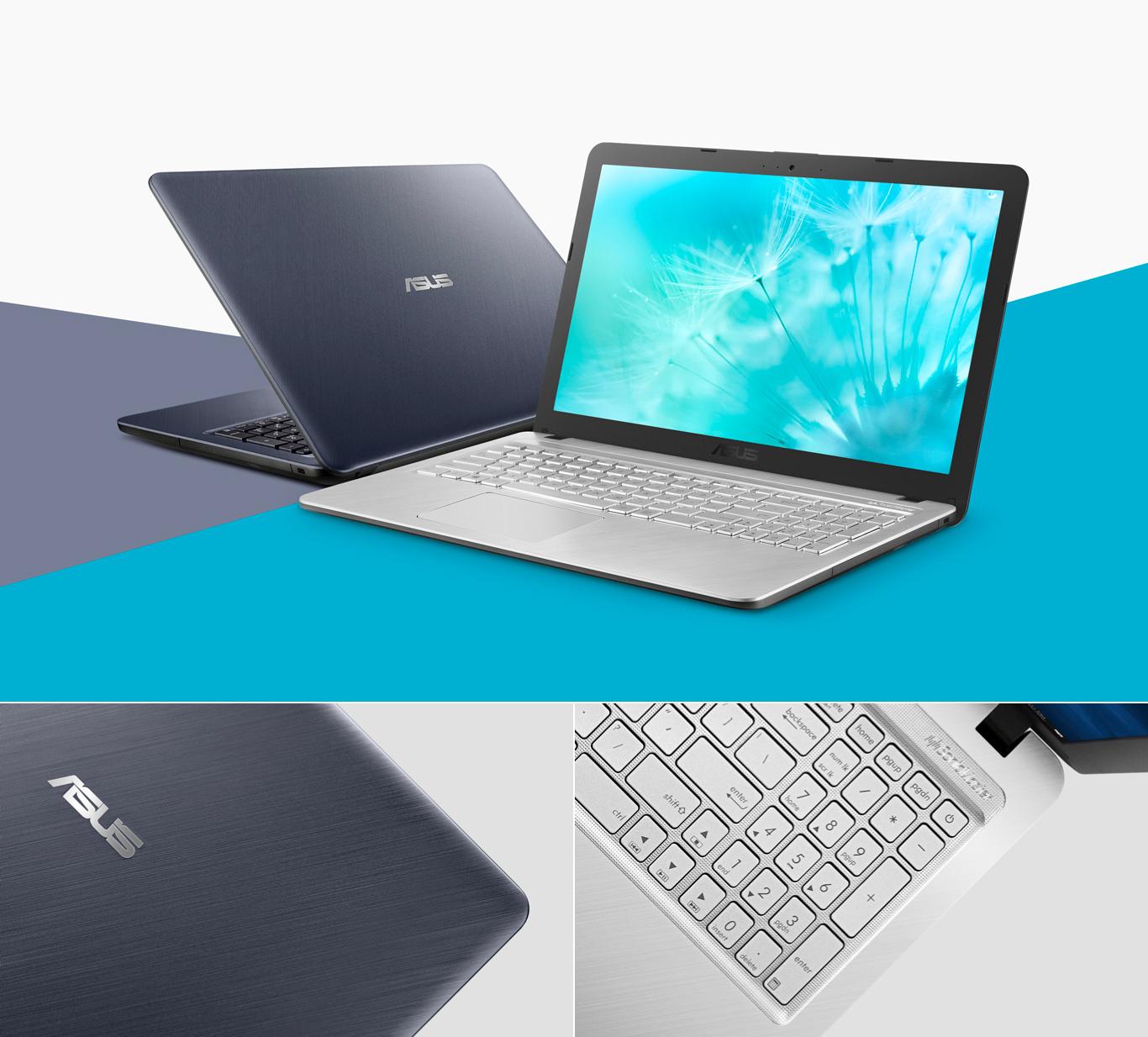 Notebook ASUS VivoBook X543 Intel Core i3-6100U 4GB 1TB 15,6