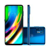 Smartphone-Motorola-G9-Plus-128GB-4GB-RAM-Tela-68--Camera-Quadrupla-Traseira-64MP---8MP---2MP---2MP-Frontal-de-16MP-Bateria-5000mAh-Azul-Indigo