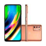 Smartphone-Motorola-G9-Plus-128GB-4GB-RAM-Tela-68--Camera-Quadrupla-Traseira-64MP---8MP---2MP---2MP-Frontal-de-16MP-Bateria-5000mAh-Ouro-Rose