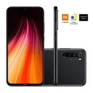Smartphone-Xiaomi-Redmi-Note-8-64GB-4GB-RAM-Tela-6.3--Camera-Quadrupla-Traseira-48MP---8MP---2MP---2MP-Bateria-4000-mAh-Preto