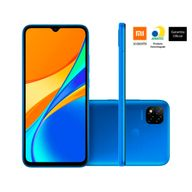 Smartphone-Xiaomi-Redmi-9C-64GB-3GB-RAM-Tela-653--Camera-Traseira-13MP---2MP---2MP-Frontal-de-5MP-Bateria-5000mAh-Azul