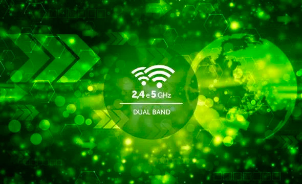 Roteador Wi-Fi Intelbras Action RF AC1200 Dual Band 4 Antenas -4750075