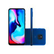 Smartphone-Motorola-E7-Plus-64GB-4GB-RAM-Tela-6.5--Camera-Dupla-Traseira-48MP---2MP-Frontal-de-8MP-Bateria-de-5000mAh-Azul-Navy