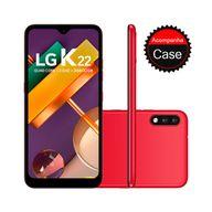 Smartphone-LG-K22-32GB-2GB-RAM-Tela-6.2--Camera-Dupla-Traseira-13MP---2MP-Frontal-5MP--Bateria-de-3000mAh-Red