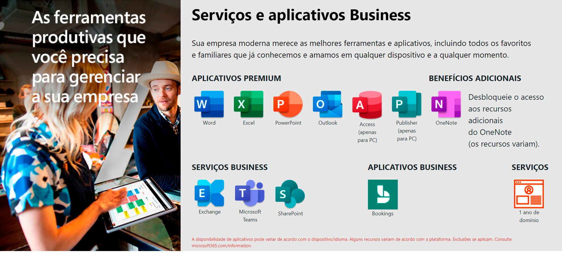 Office 365 Business Premium Microsoft KLQ-00412 para 5 PCs