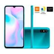 Smartphone-Xiaomi-Redmi-9A-32GB-2GB-RAM-Tela-6.53--Camera-Traseira-13MP-Frontal-de-5MP-Bateria-5000mAh-Verde