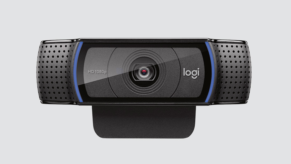 Webcam Logitech C920 USB Full HD 1080p, Preta - 960-000764