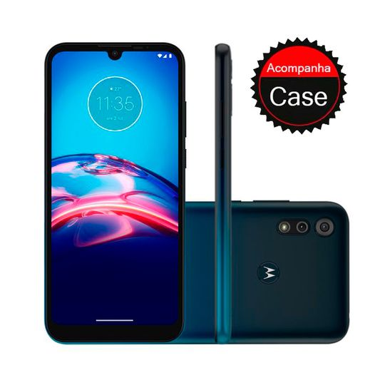 Smartphone-Motorola-E6S-64GB-4GB-RAM-Tela-6.1--Camera-Dupla-Traseira-13MP---2MP--Frontal-de-5MP-Bateria-3000mAh-Azul-Navy