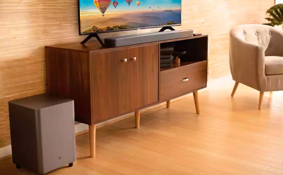 Soundbar JBL 5.1 Surround com Tecnologia MultiBeam 325W RMS