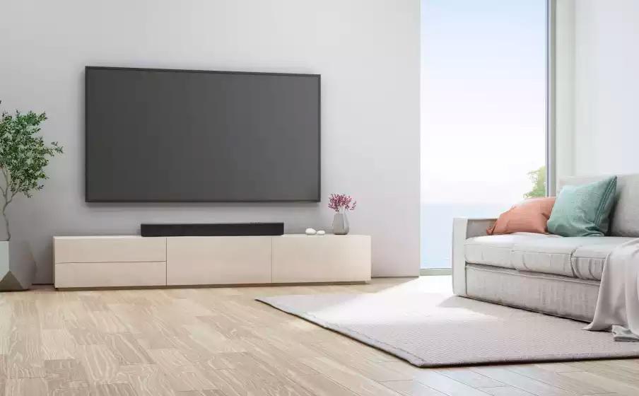 Soundbar JBL Cinema SB110 c/ Subwoofer Bluetooth 550W 2.0 Canais -JBLSB110BLKBR