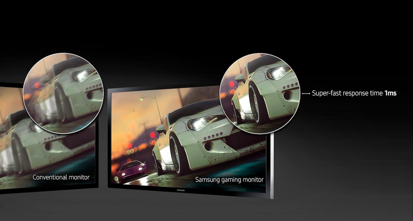 Monitor Gamer Samsung LED 27 Full HD HDMI 1ms - LS27E332HZXMZD