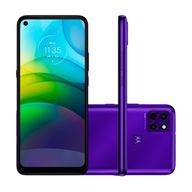 Smartphone-Motorola-G9-Power-128GB-4GB-RAM-Tela-68--Camera-Tripla-Traseira-64MP---2MP---2MP-Frontal-de-16MP-Bateria-6000mAh-Purple