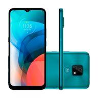Smartphone-Motorola-E7-32GB-4GB-RAM-Tela-65--Camera-Dupla-Traseira-48MP---2MP-Frontal-de-5MP-Bateria-4000-mAh-Aquamarine